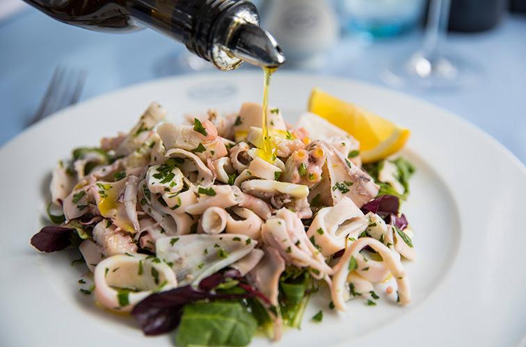 Fine Italian food London